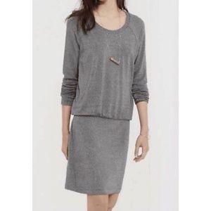 Lou & Gray Blouson Long a Sleeve Dress Medium
